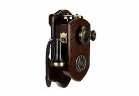 Teléfonos Antiguos de pared