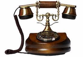 telefonos antiguos de madera