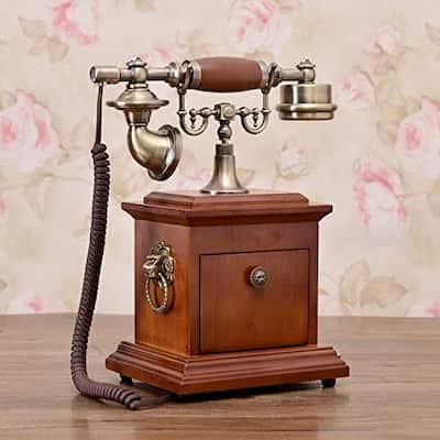 telefonos antiguo  madera